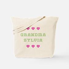 Grandma Sylvia Tote Bag