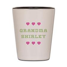 Grandma Shirley Shot Glass