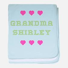 Grandma Shirley baby blanket