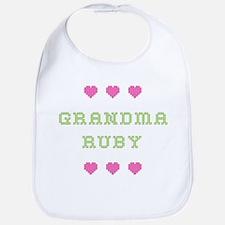 Grandma Ruby Bib