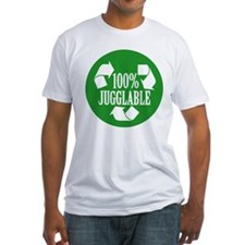 100% Jugglable (Green) T-Shirt