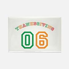 Thanksgiving 06 Rectangle Magnet (10 pack)