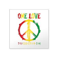 ONE LOVE - ALL Sticker