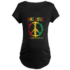 ONE LOVE - ALL Maternity T-Shirt