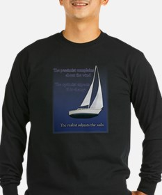 Adjust the sails Long Sleeve T-Shirt