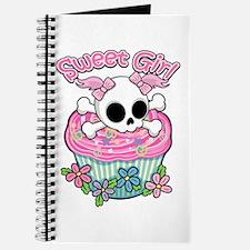 Sweet Girl Skull Journal