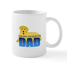 Golden Retriever Dad Small Mug