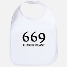 669 HORNY BEAST Bib