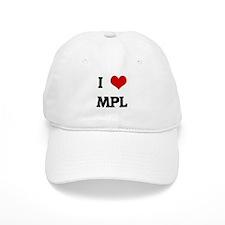 I Love MPL Baseball Cap