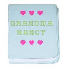 Grandma Nancy baby blanket
