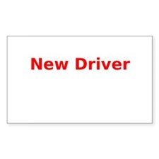 New Driver Decal