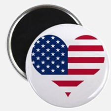 "American Heart 2.25"" Magnet (100 pack)"