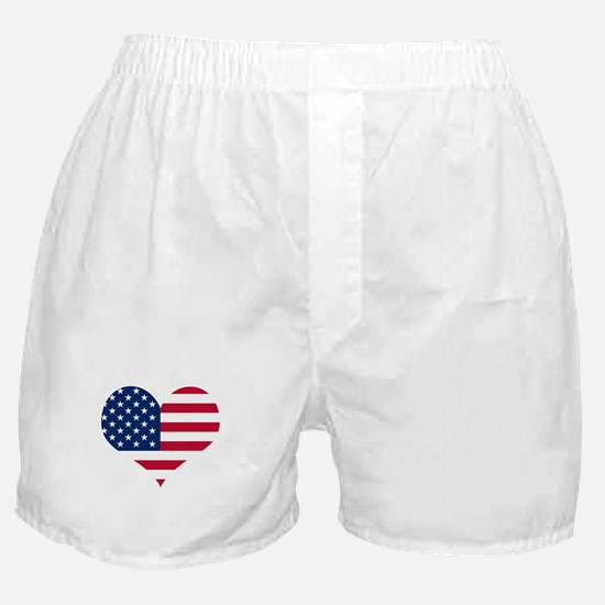 American Heart Boxer Shorts