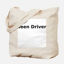 Teen Driver Tote Bag