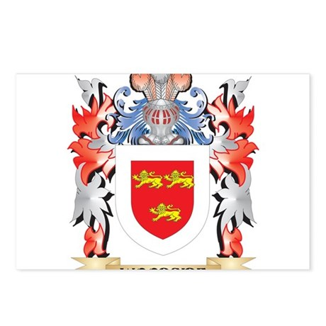 Woodside Coat of Arms - F Postcards (Package of 8)