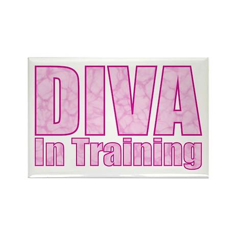 Diva in Training Rectangle Magnet (10 pack)