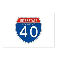 Interstate 90 - WY Postcards (Package of 8)