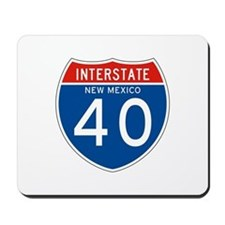 Interstate 90 - WY Mousepad