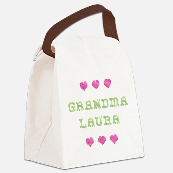 Grandma Laura Canvas Lunch Bag