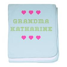 Grandma Katharine baby blanket
