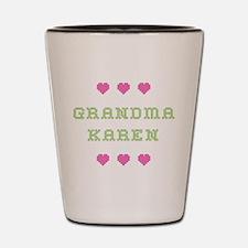 Grandma Karen Shot Glass