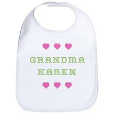 Grandma Karen Bib