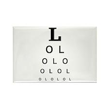 LoLoLoL Rectangle Magnet