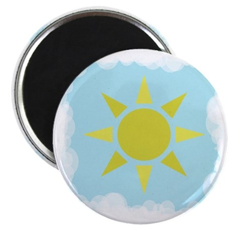 "Sun and Sky 2.25"" Magnet (100 pack)"