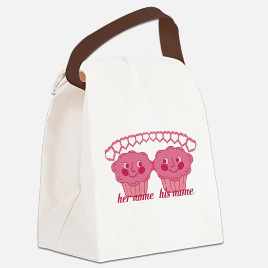 Personalized Cuddle Muffins Canvas Lunch Bag