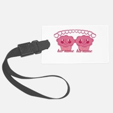 Personalized Cuddle Muffins Luggage Tag
