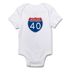 Interstate 40 - NC Infant Bodysuit