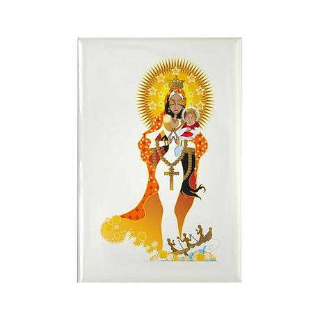 La Virgen de la Caridad del Cobre Rectangle Magnet