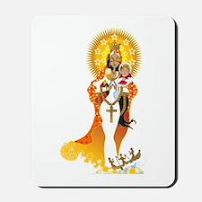 La Virgen de la Caridad del Cobre Mousepad