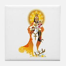 La Virgen de la Caridad del Cobre Tile Coaster