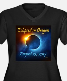 Ecliipsed In Oregon Plus Size T-Shirt