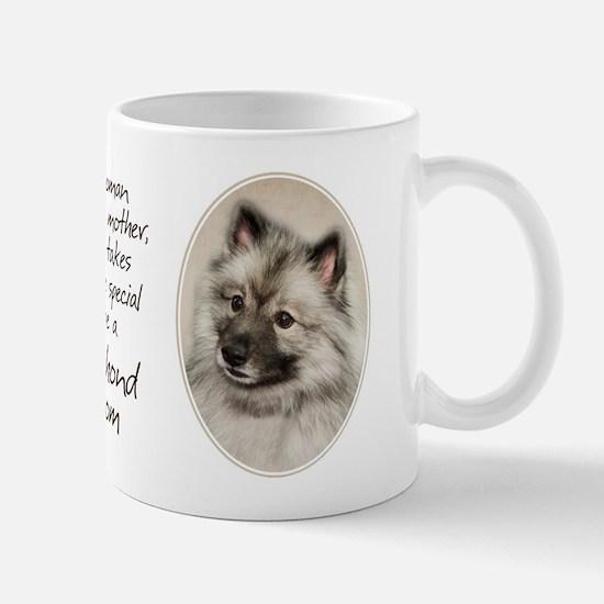 Keeshond Mom Mug