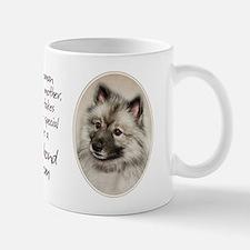 Keeshond Mom Small Small Mug