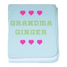 Grandma Ginger baby blanket