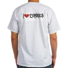 """Zombies"" Ash Grey T-Shirt"