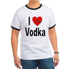 I Love Vodka T