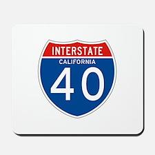 Interstate 40 - CA Mousepad