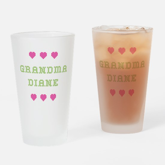 Grandma Diane Drinking Glass