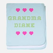 Grandma Diane baby blanket