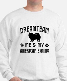 American Eskimo Dog Designs Sweatshirt