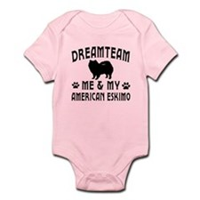 American Eskimo Dog Designs Infant Bodysuit