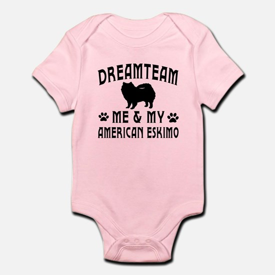 American Eskimo Dog Designs Infant Bodysuit