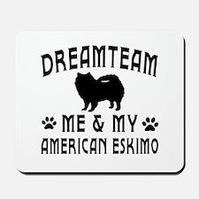 American Eskimo Dog Designs Mousepad