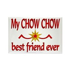 Chow Chow Best Friend Rectangle Magnet (100 pack)