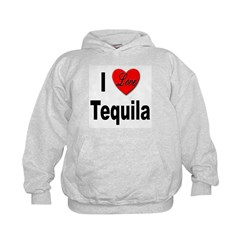 I Love Tequila (Front) Hoodie