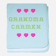 Grandma Carmen baby blanket
